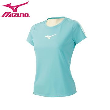 32TA670223(冰晶藍)翁滋蔓代言系列女短袖T恤 【美津濃MIZUNO】