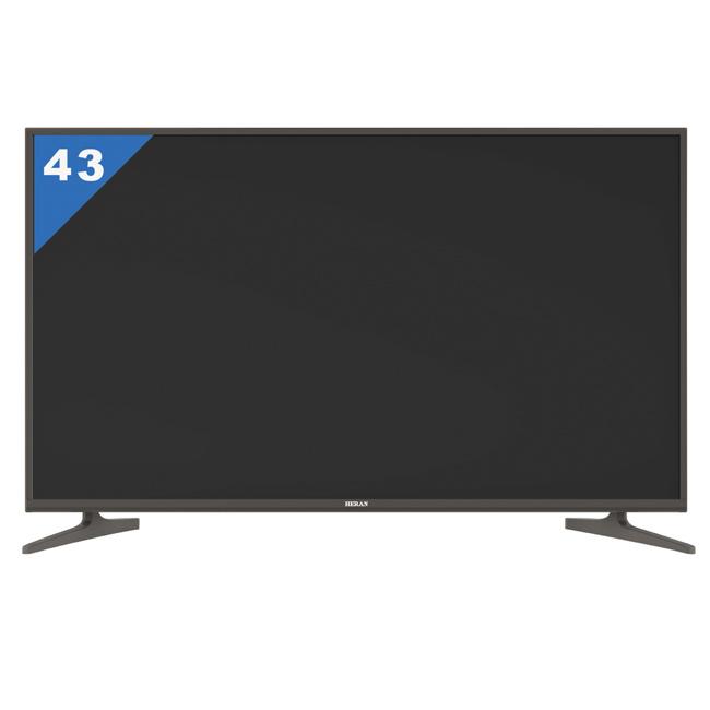 【禾聯HERAN】43吋 4K 聯網 LED液晶顯示器(HD-434KC1+視訊盒)