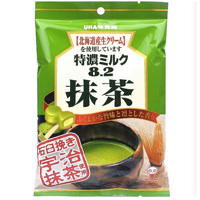 UHA味覺特濃抹茶牛奶糖 (84g)