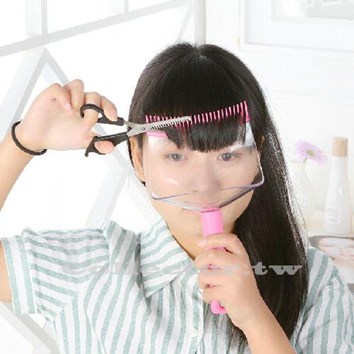 【F14122901】日韓升級版DIY齊瀏海梳子 修剪神器  瀏海梳子 美髮梳 剪髮器 妹妹頭剪髮