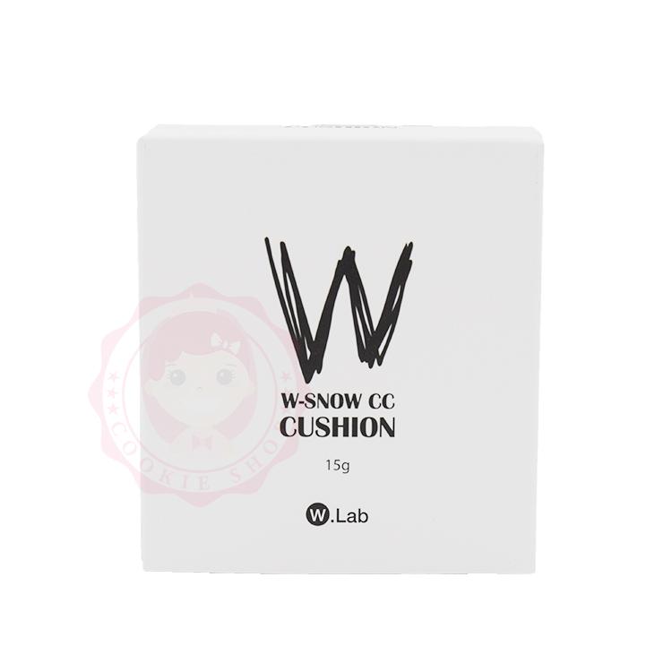 韓國 W.Lab 雪嫩亮白CC氣墊水凝霜/粉餅(15g)【庫奇小舖】
