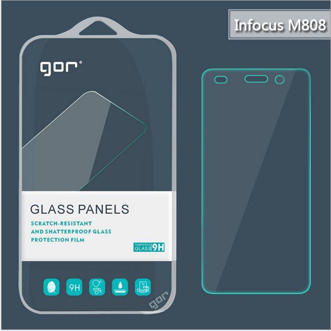 【鴻海/Infocus】GOR 正品 9H M808 玻璃 鋼化 保護貼【全館滿299免運費】