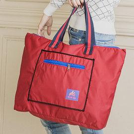 【惜福商品】台灣製造購物旅行袋/行李箱拉桿袋
