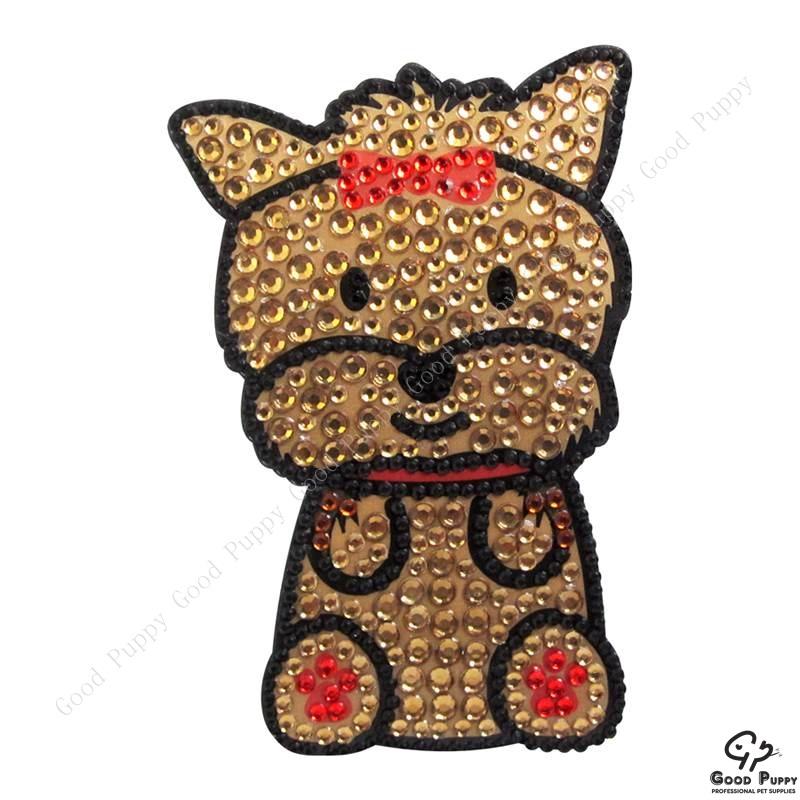 加拿大進口狗狗寵物水鑽貼紙-約克夏92967 Yorkshire Terrier* 手機/平板/電腦/iPad/iPhone/小禮物/贈品