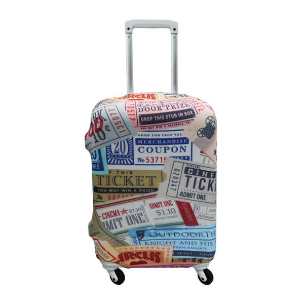 【加賀皮件】 HAPITAS 旅行箱套 L號 多款式 彈性佳 可伸縮 收納方便 旅行箱套 HAP7037