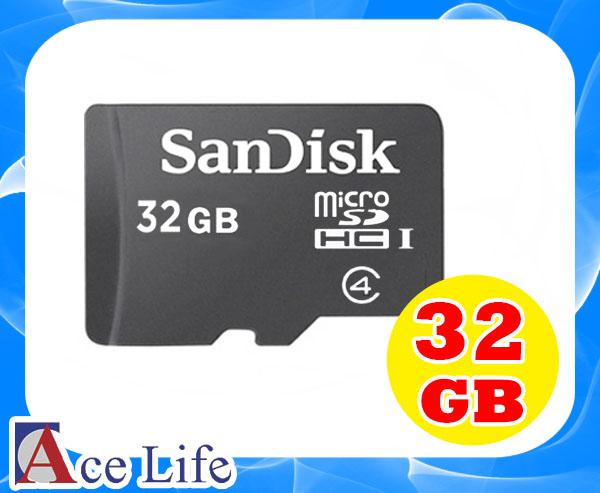 【九瑜科技】Sandisk 32G 32GB Class4 C4 micro SD SDHC TF 記憶卡 手機 行車紀錄器 Kingston Toshiba