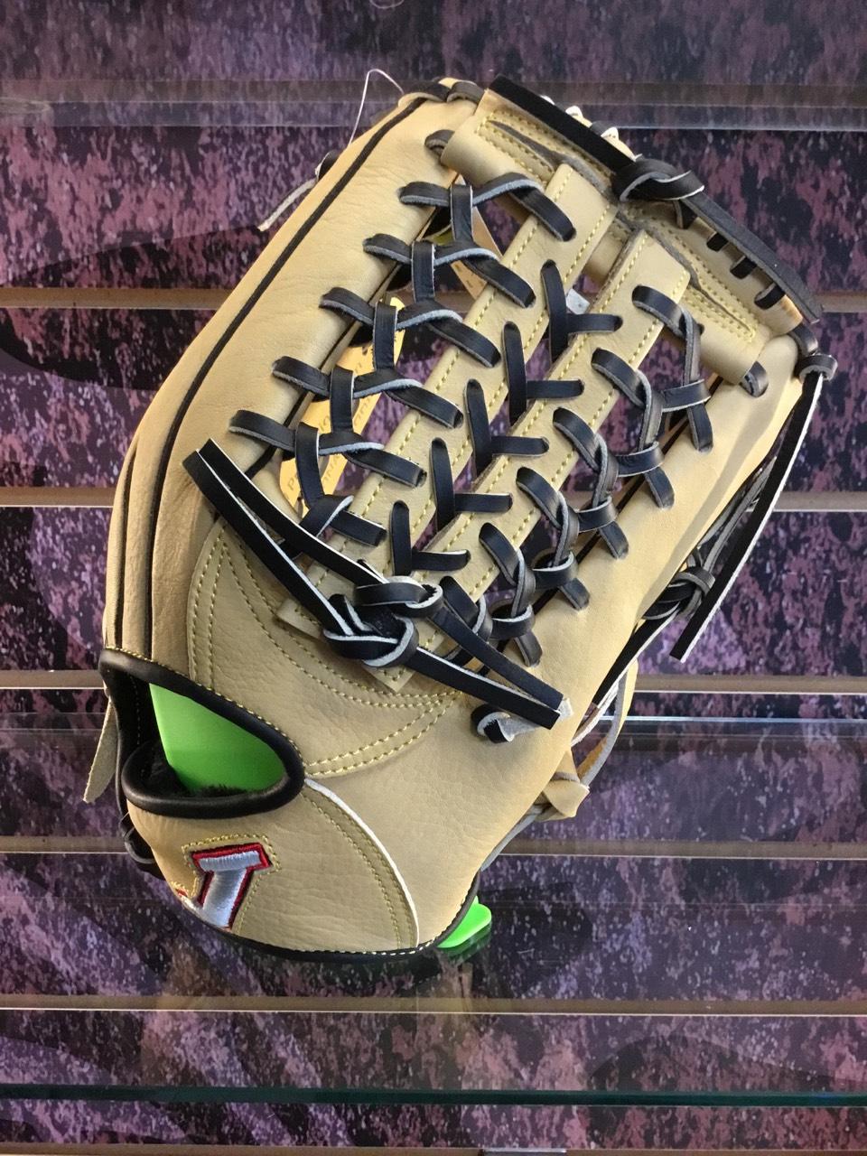 【軟式】JJS軟式摔花牛革豬裏12.75吋通用即戰型棒球壘球手套