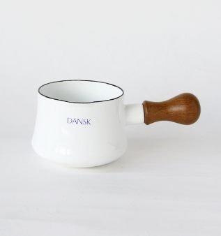 *新品上市*日本知名品牌 DANSK日本復刻版 奶油鍋 10cm(純白)