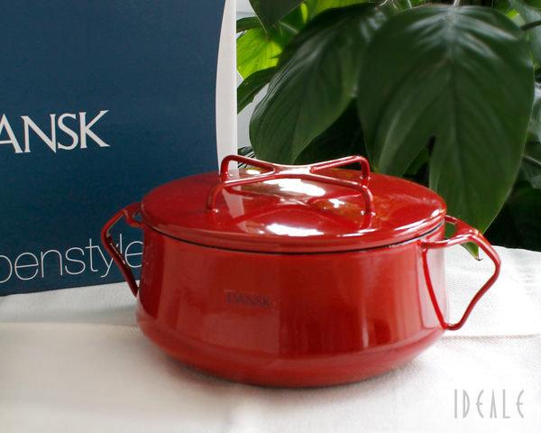 *新品上市*DANSK日本復刻版 DANSK 經典兩耳鍋 18cm(紅)~網路最低價~經典款