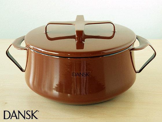 *新品上市*DANSK日本復刻版 DANSK 經典兩耳鍋 18cm-網路最低價-經典款!!-咖啡色-免運