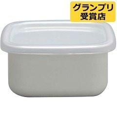 *新品上市*日本製 野田琺瑯 正方型 0.32L 透明蓋 保鮮盒-WS-S