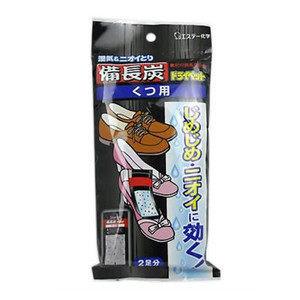 *新品上市*日本製*日本雞仔牌 備長炭 吸濕小包-21g*4入-鞋子用-日本第一品牌