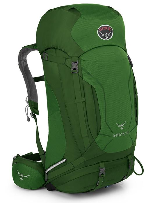 【鄉野情戶外專業】  Osprey |美國|  Kestrel 48 登山背包/自助旅行中背包-叢林綠M/L/Kestrel48  【容量48L】