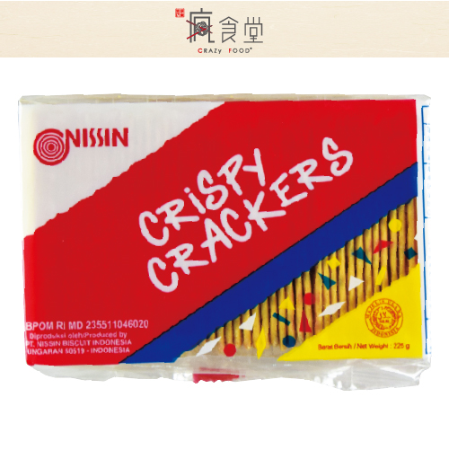 印尼 日清 NISSIN 香脆起司餅 (225g)