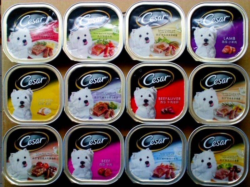 Cesar 西莎 狗罐頭 24盒/箱 口味可混搭