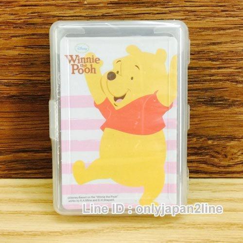 【真愛日本】16120100001撲克牌-維尼   迪士尼 小熊維尼 POOH 維尼熊  紙牌  遊戲