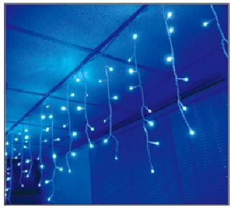 訂製品★LED 窗簾燈 白色/藍色 110V/220V (100顆燈)3X0.9米★永旭照明5A1-CM26B/W005(B)