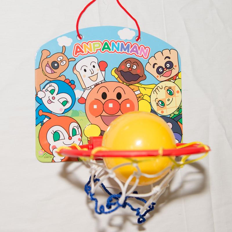 麵包超人 籃球組 投籃遊戲 隨處可玩 三歲以上 日本帶回 正版