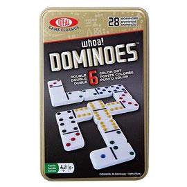 【美國Ideal】經典桌遊系列-骨牌接龍(6點)