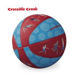 《美國Crocodile Creek》5.5吋兒童運動遊戲籃球-籃球運動