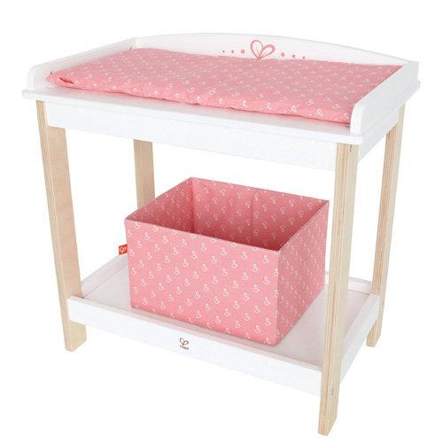 【德國Hape愛傑卡】嬰兒娃娃系列嬰兒尿布桌