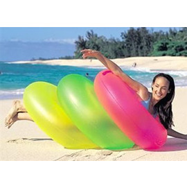 INTEX 36吋霓虹光充氣泳圈(1入,成人專用,有多色可選擇)_59262