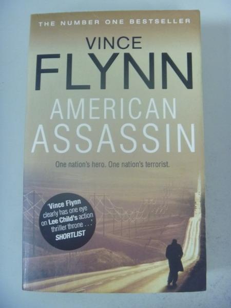 【書寶二手書T7/原文小說_IQF】American Assassin_Vince Flynn