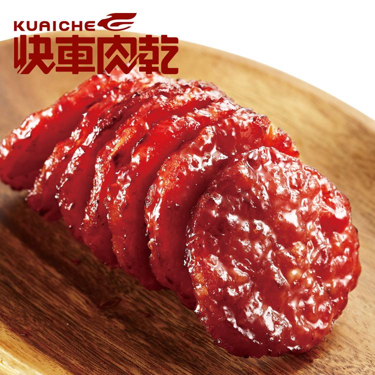 【快車肉乾】A28 月見炙燒豬肉乾(185g/包) 〔無添加防腐劑〕
