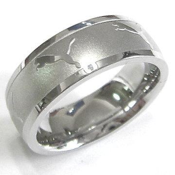 Jaguar【豹】不銹鋼戒批發::近似PUMA風格::附戒指盒