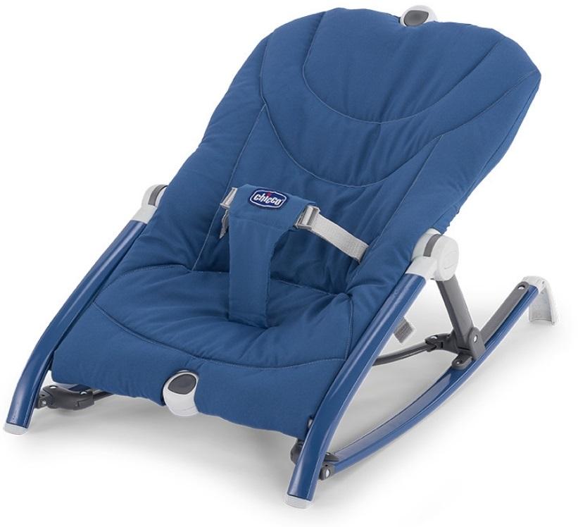 【淘氣寶寶】Chicco Pocket Relax 安撫搖椅【保證原廠公司貨】【海洋藍】