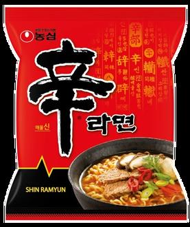 韓國農心 辛拉麵 (120gX四包入) 世界泡麵排名超好吃 泡麵 韓國泡麵 韓國第一 首爾人最愛《ibeauty愛美麗》韓國票選冠軍