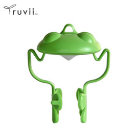 Truvii 動物光罩(綠青蛙) 露營燈 光罩 手電筒 工作燈 旅行光罩 照明 帳蓬燈