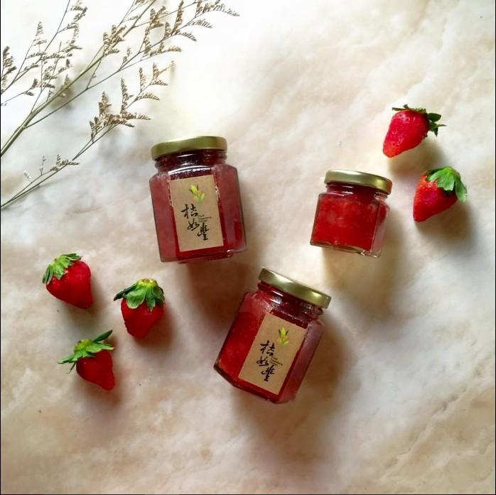 天然果醬 手作果醬(奶酒草莓) 桔如豐果醬