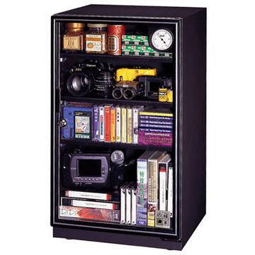 弘瀚科技收藏家黑膠唱片推薦使用機型93公升可升級專業型電子防潮箱 AX-96