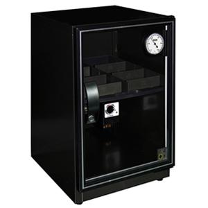 弘瀚全功能型40L輕巧收納設計的抽拉式平面層板電子防潮箱DX-56