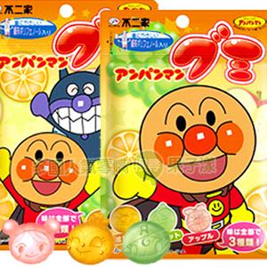 *即期促銷價*日本不二家 麵包超人造型水果QQ糖 [JP425]