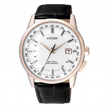 CITIZEN 電波時計光動能錶/CB0153-13A