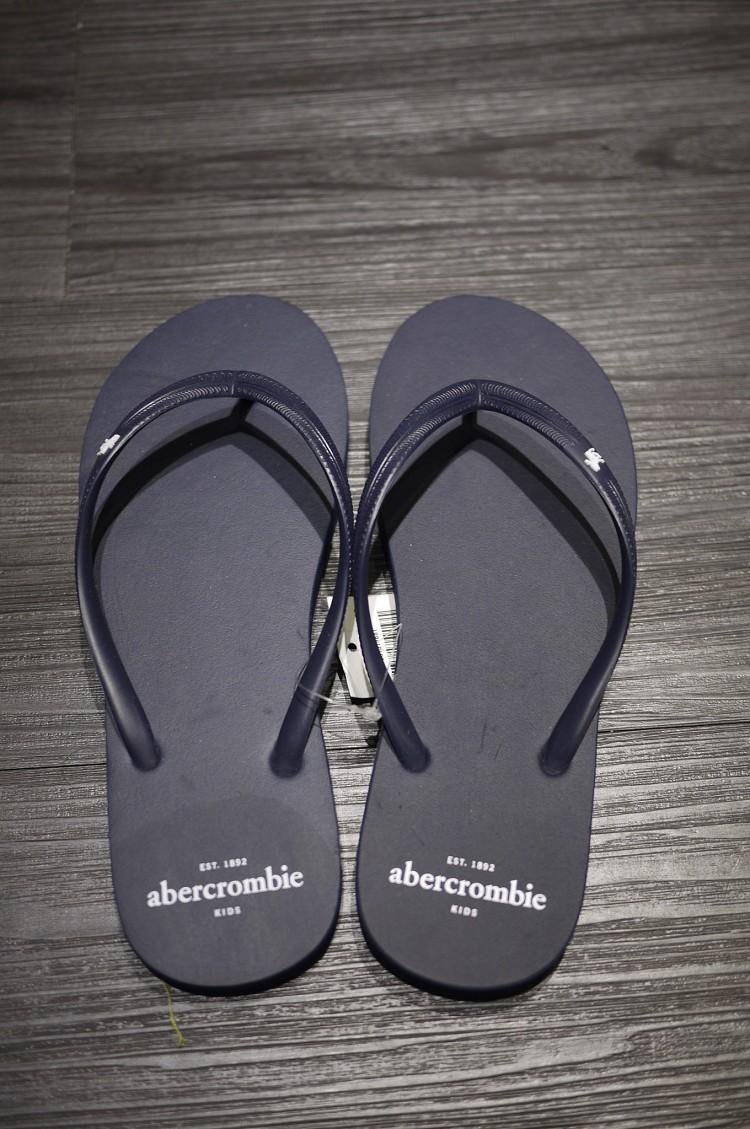 [麋鹿美國精品] Abercrombie&Fitch AF A&F a&f af 女 拖鞋 海灘鞋