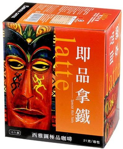 [西雅圖]即品拿鐵咖啡(21gx15入)4710782170582