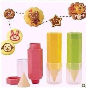 =優生活=日本arnest美食繪畫筆 三件套組 DIY烘培繪畫筆 餅乾模具 麵包繪畫