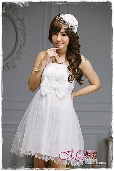 [瑪嘉妮Majani]- 甜美 氣質 大尺碼小禮服 伴娘服 宴會 約會 L~3XL 特價590元免運 ld-011