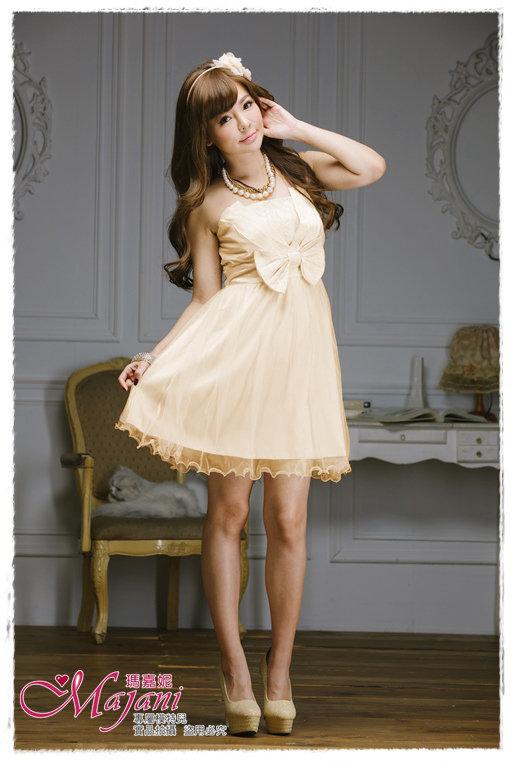 [瑪嘉妮Majani]- 甜美 氣質 大尺碼小禮服 伴娘服 宴會 約會 L~3XL 特價590元免運 ld-012