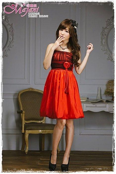 [瑪嘉妮Majani]- 甜美 氣質 大尺碼小禮服 伴娘服 宴會 約會 L~3XL 特價590元免運 ld-032