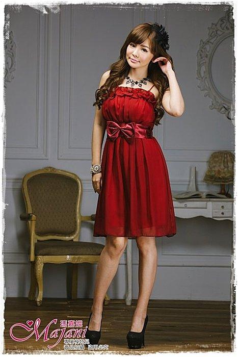 [瑪嘉妮Majani]- 甜美 氣質 大尺碼小禮服 伴娘服 宴會 約會 L~3XL 特價590元免運 ld-043
