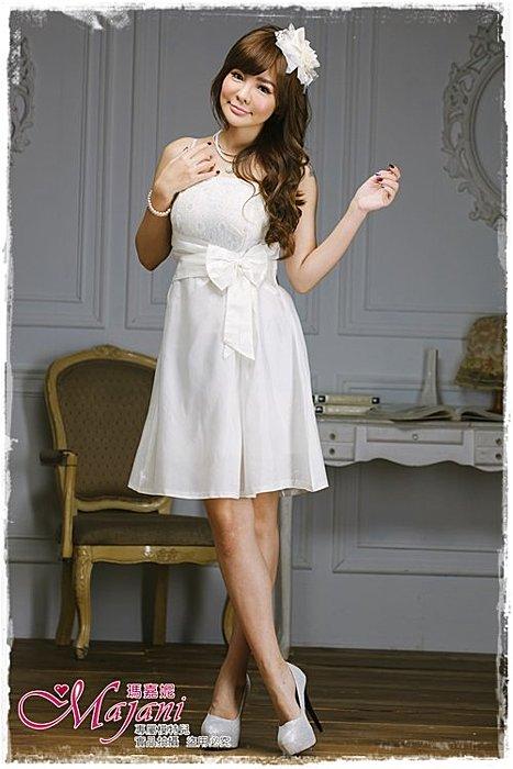 [瑪嘉妮Majani]- 甜美 氣質 大尺碼小禮服 伴娘服 宴會 約會 L~3XL 特價590元免運 ld-061