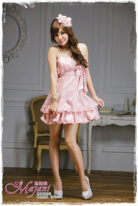 [瑪嘉妮Majani]- 甜美 氣質 大尺碼小禮服 伴娘服 宴會 約會 L~3XL 特價590元免運 ld-072
