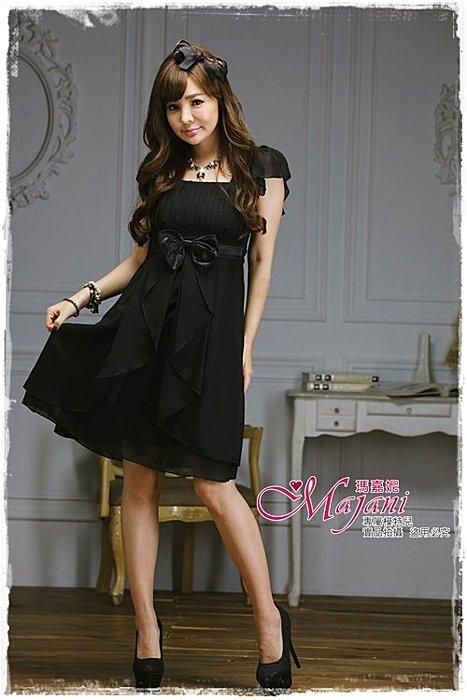 [瑪嘉妮Majani]- 甜美 氣質 大尺碼小禮服 伴娘服 宴會 約會 L~4XL 特價590元免運 ld-083