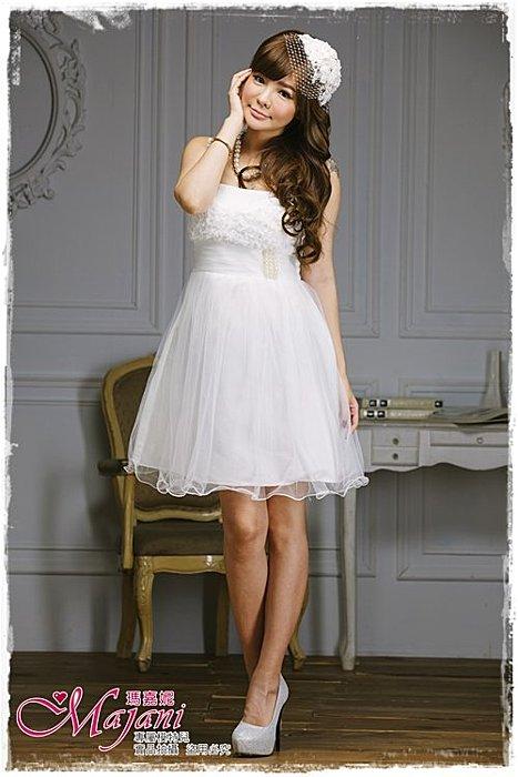 [瑪嘉妮Majani]- 甜美 氣質 大尺碼小禮服 伴娘服 宴會 約會 L~3XL 特價590元免運 ld-101