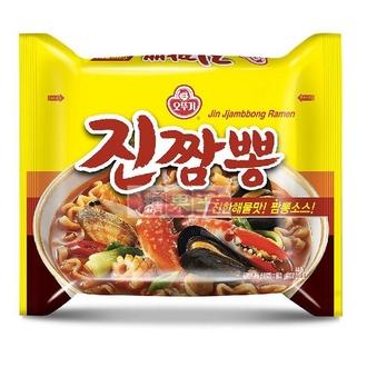 韓國 不倒翁 螃蟹風味炒碼麵 (四包入) 泡麵 韓國泡麵《ibeauty愛美麗》