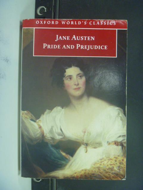 【書寶二手書T1/原文小說_JGT】白底黑字_Pride and Prejudice_Austen, Jane